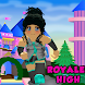Obby Royale high Cookie Swirl roblx Mod