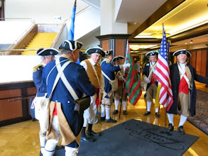 Photo: Combined Great Lakes District Color Guard assembly