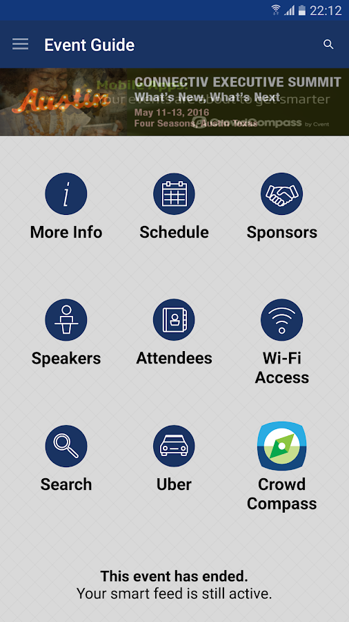 SIIA Events- screenshot