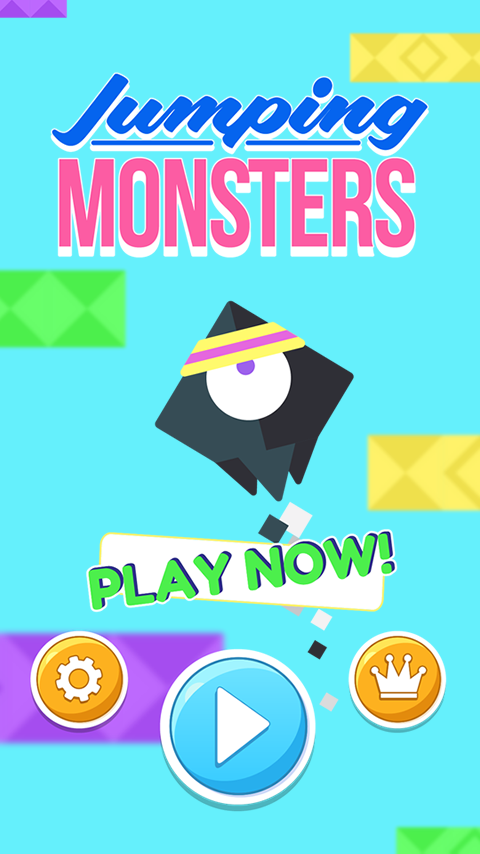 AMAZING JUMPING MONSTERS SAGA- screenshot