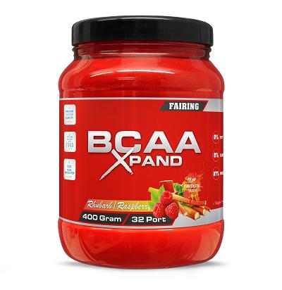 Fairing BCAA Xpand 400g - Rhubarb/Raspberry