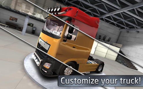 Game Euro Truck Driver (Simulator) APK for Windows Phone