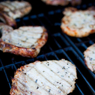 Easy Grilled Pork Chops with Homemade Italian Marinade