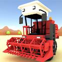 Blocky Farm Racing & Simulator - free driving game icon