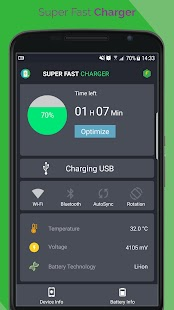 Super Fast Battery Charger Screenshot