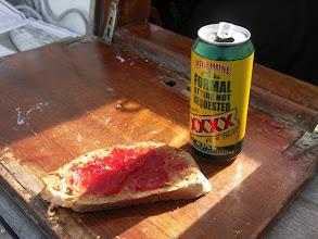 Photo: Enkel lunch på väg mot Holyhead!