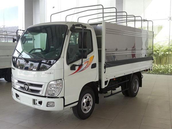 xe tải Thaco màu trắng