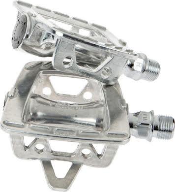 MKS GR-9 Platform Pedals, Silver alternate image 0