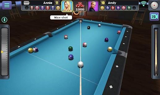 how to play 8 ball pool messenger mobile