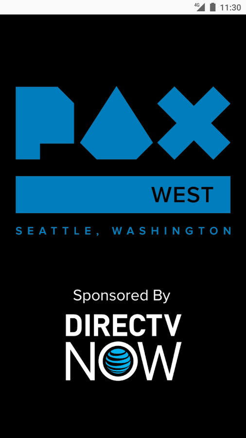 PAX West Mobile App- screenshot