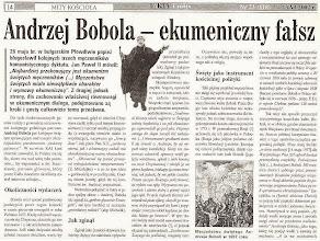 Photo: Artykuł prasowy. (fragment)
