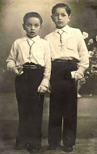 Photo: Lolo Echevarria y su hermano