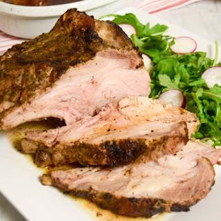 The Perfect Herbed Pork Rib Roast.