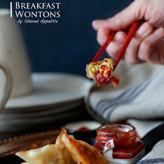 Bacon, Egg, and Cheese Breakfast Wontons Recipe