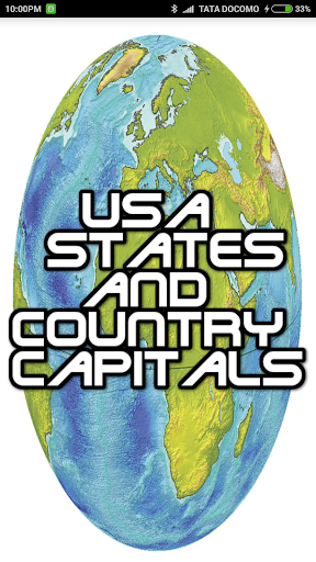 USA States Country Capitals