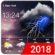 Easy weather forecast app free icon