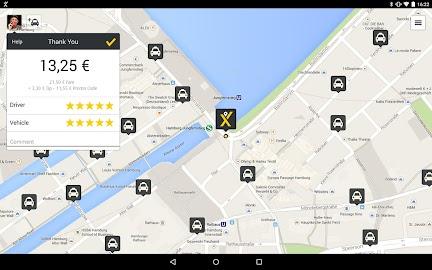 mytaxi – The Taxi App Screenshot 9