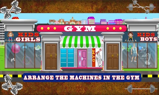 Build a Gym: Building Construction Simulator Game - náhled