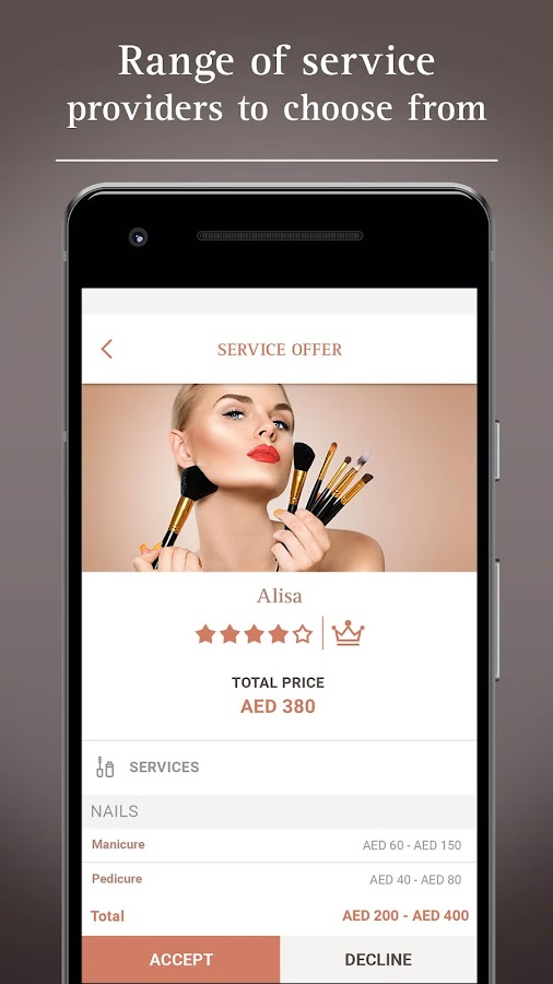 GlossyGlobe – Beauty Delivery- screenshot