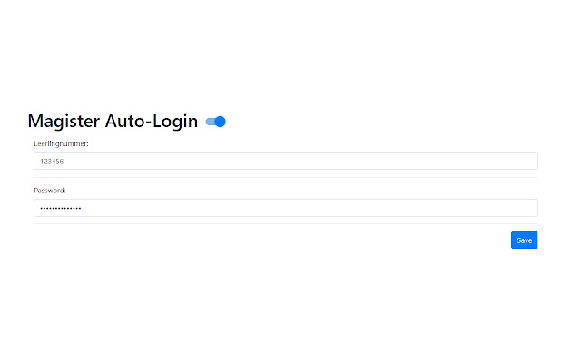 Magister Auto-Login