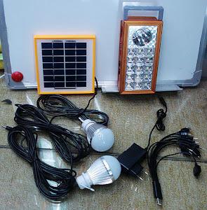 Sistem solar profesional reincarcabil