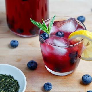 Blueberry Iced Green Tea