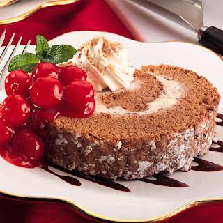 Black Forest Ice Cream Cake.