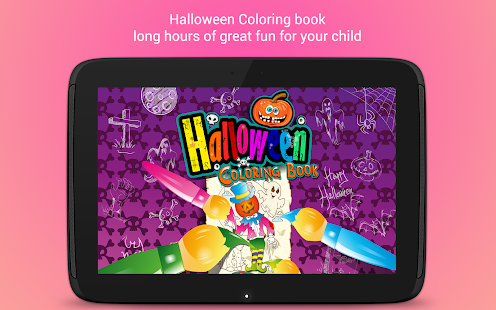 Halloween Coloring Book 🎃- screenshot thumbnail