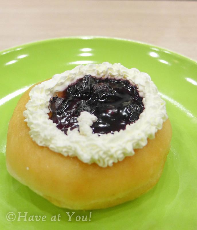 blueberry doughnut