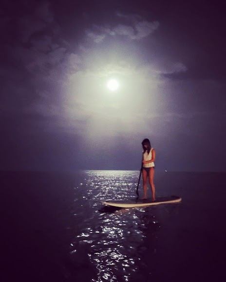 Paddle Surf nocturno.