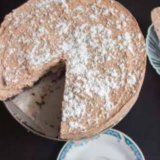 No Eggs No Bake Chocolate mousse Cake.