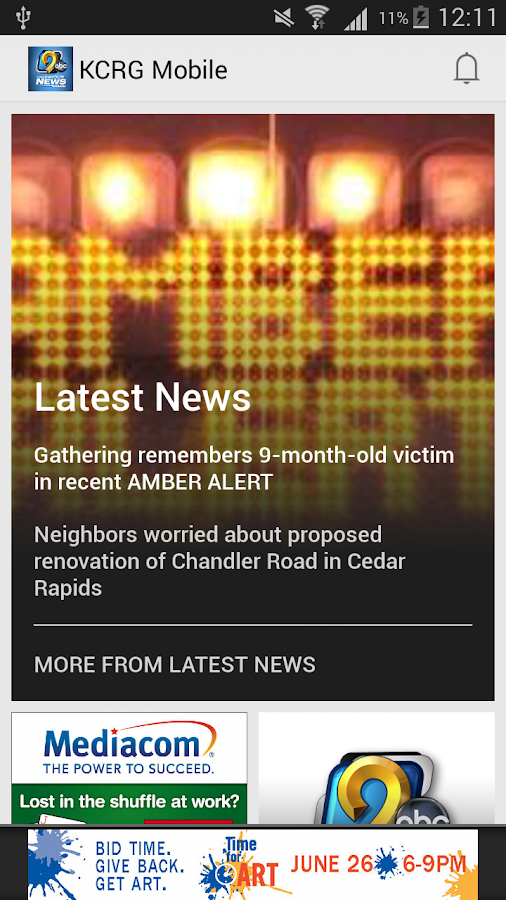 KCRG Mobile- screenshot