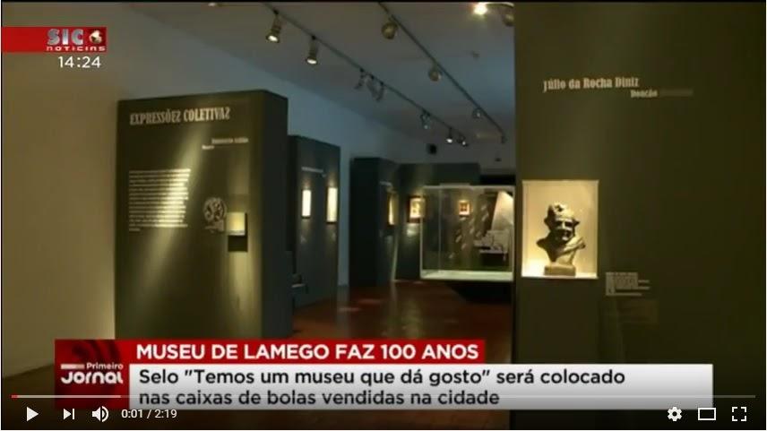 Vídeo - Cultura e gastronomia para celebrar os 100 anos do museu de Lamego