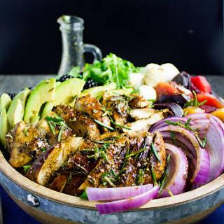 Italian Balsamic Chicken Salad.