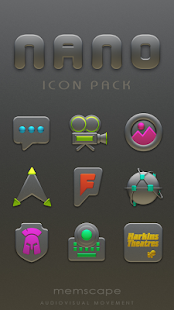 NANO Icon Pack - náhled