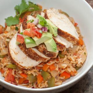 Chicken Fajita Burrito Bowl.