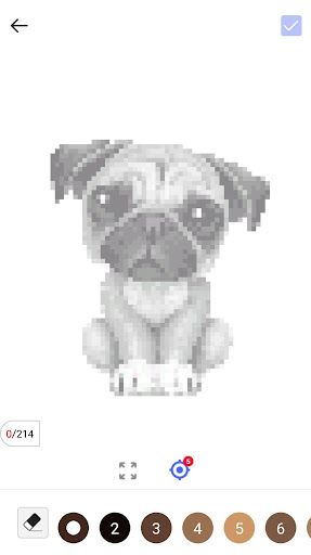 Unicorn Pug - Color By Number & Pixel No Draw - screenshot