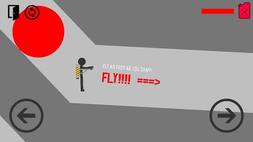 玩免費街機APP|下載Stickman fly flight app不用錢|硬是要APP
