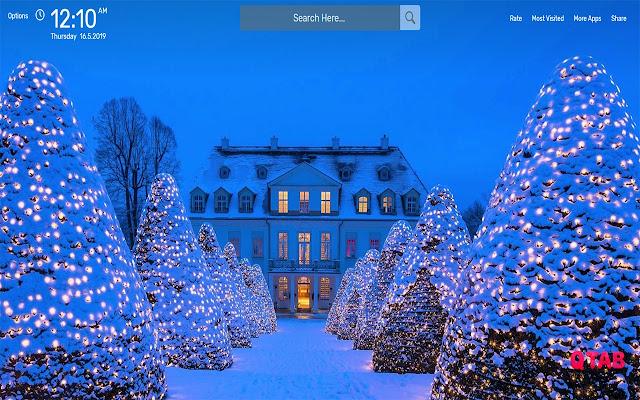 Christmas Tree Wallpapers Hd Theme