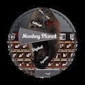 Monkey Planet GO Keyboard icon