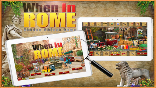 When in Rome - Hidden Object