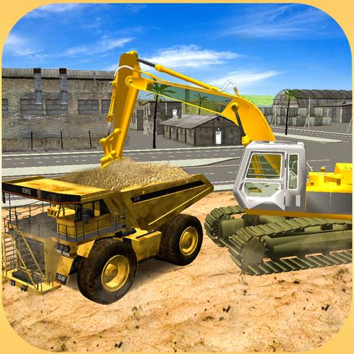 重型挖掘机起重机3D 模擬 App LOGO-硬是要APP