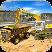 Heavy Excavator Crane 3D