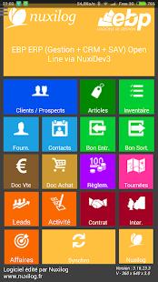 EBP ERP (Gestion + CRM + SAV) - screenshot thumbnail