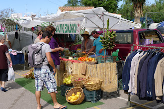 Photo: Nerja's Tuesday mercadillo