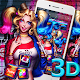 3D Joker Girl Launcher Theme  Download on Windows