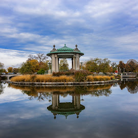 Forest Park by Brian Brown - City,  Street & Park  City Parks ( forest park, waterscape, missouri parks, st. louis, fall in st. louis )
