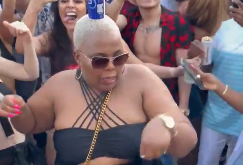 A South African lit up the dance floor at a Black Coffee gig in Texas recently.