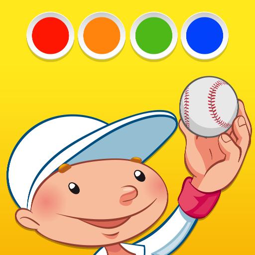 教育App|着色 - スポーツの LOGO-3C達人阿輝的APP