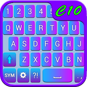 Blue-Purple Keyboard